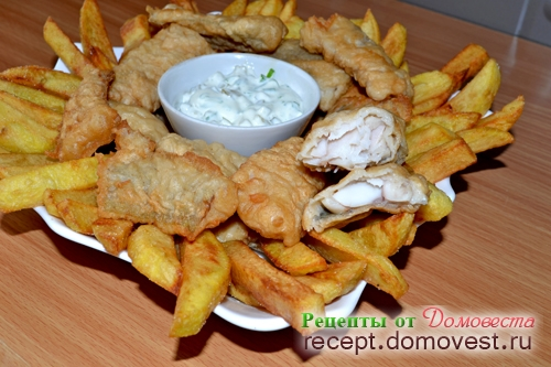 Фиш энд чипс (Fish and Chips) - рыба с картошкой по-английски